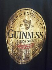 Guinness Extra Stout black graphic 2XL t shirt