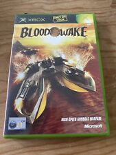 Blood Wake Xbox Retro Videospiel-genialer Zustand mit Handbuch, Konsole, Fun