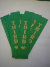 3RD PLACE AWARD RIBBONS FOR CLUBS,EVENT,SCHOOLS