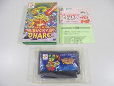 Famicom NES BUCKY O'HARE Boxed NTSC-J Tested 7a0a