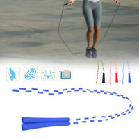 Ergonomic Beaded Segmented Jump Rope Adults Children Sports Exercise Skipping