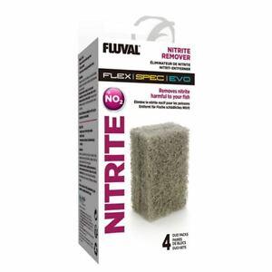 Fluval Evo/Spec/Flex Nitrate/Nitrite Remover Insert Block (4xDuo Pack) *Genuine*