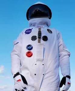 Apollo Space Suit Replica Delux Unisex Costume