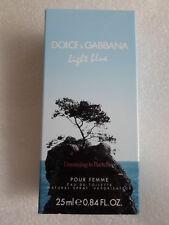 DOLCE & GABBANA  LIGHT BLUE   Dreaming in  Portofino  vapo  25 ml   EDT neuf