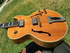 1999 Gibson L-4 CES Natural Massive Maple Flamed B & S Archtop Jazzbox Nashville