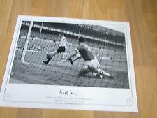 Cliff JONES Tottenham Hotspur 1961 Hand Signed AUTOGRAPHED Editions LE Print