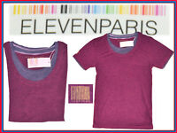 ELEVEN PARIS France T-Shirt Pour Homme  S M L  Jusqu'à -80 %  EP04 N1G