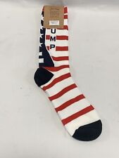 Donald Trump 2020 Republican American Flag Socks MAGA Fast Free USA Shipping