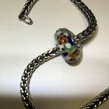 Authentic Trollbeads Unique OOAK Bead Life Light  Turtle Summer Fish  New!!