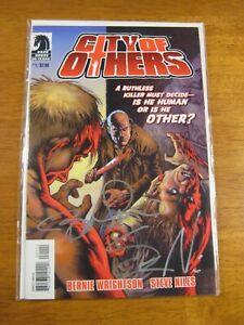 CITY OF OTHERS #1 **2X SIGNED BERNIE WRIGHTSON! STEVE NILES!** COA