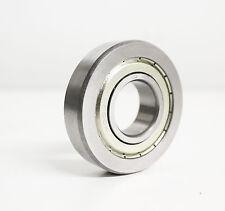 8x LR207 KDDU Laufrolle 35x80x17 mm ballige Mantelfläche Polyamidkäfig TN