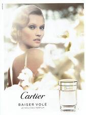 Publicité Advertising 107   2011  parfum Baiser volé Cartier Mathilde Laurent