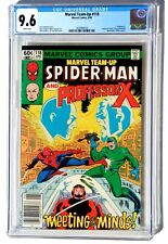 CGC 9.6 MARVEL TEAM-UP #118 * Spider-Man & Professor X * X-Men * White Pages