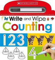 Write and Wipe: Counting: 3 (Scholastic Early Learners) by Scholastic Early Lear
