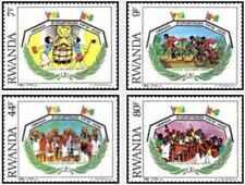 Timbres Rwanda 1186/9 ** lot 26278