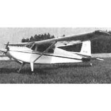 Rc-plans de bâtiment Cessna 180 Modélisme Modèle plan de bâtiment