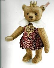"STEIFF  ""ANTONIA TEDDY BEAR"" EAN 034688 RUSSIAN TSARINA WITH CROWN-LIMITED ED"