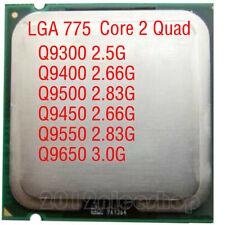 LOT Intel Core 2 Quad Q9300 Q9400 Q9450 Q9500 Q9550 Q9650 LGA 775 CPU Processor