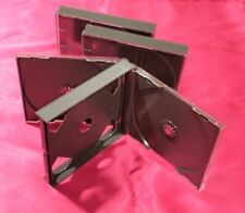 FAT DOUBLE JEWEL CASES (black) x 3 pieces set with Tray Product of Japan 2CD