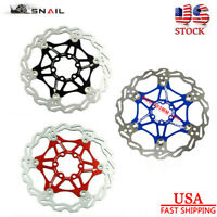 SNAIL MTB Disc Floating Rotor 160/180/203mm  Mountain Bicycle Brake With 6 Bolts