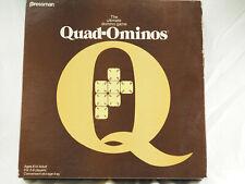 Quad-Ominos Plastic Tile Game VINTAGE BRAND NEW  1978 by Pressman  #4422