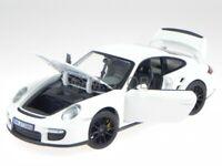 Porsche 911 997 GT2 2007 white diecast model car 187572 Norev 1/18