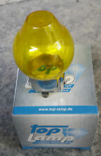CITROEN VISA GS GSA CAPPUCCIO GLOBO FARI GIALLI YELLOW GLASS FRENCH LOOK H4