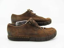Dr Martens Men Brown Leather Lace Up Oxford Sneaker Shoe 47  13M Pre Owned LH