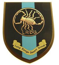 LRDG LONG RANGE DESERT GROUP CLASSIC HAND MADE REGIMENTAL MESS PLAQUE