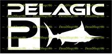 PELAGIC Fishing Gears II - Cars/SUV's/Trucks Vinyl Die-Cut Peel N' Stick Decals