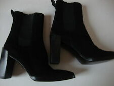 vintage black gucci womens suede boot Size 7.5 b