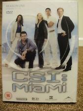* DVD TV BOXSET * CSI MIAMI SEASON ONE PART ONE * DVD TELEVISION SET *