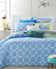 Martha Stewart Whim Bow Ties 5 Piece King Comforter Set Msrp $200 Nitp