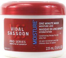 (2) Vidal Sassoon Pro Series Restoring Moisture 1 Minute Mask 7.6 FL Oz