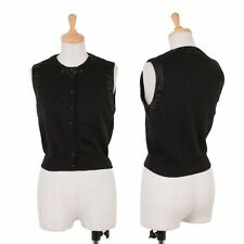 EMPORIO ARMANI Piping Wool Vest Size 40(K-46279)