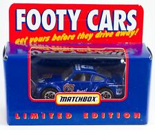 Matchbox Footy Cars Australian AFL North Melbourne Kangaroos Roos 1:64 New LE