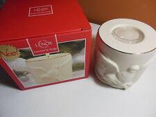 Nib Lenox American by Design Dove Radiant Light Votive Tea Light Candle Holder