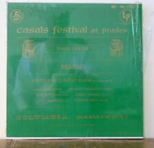 Casals Festival at Prades Brahms Sextet Stern Casals Columbia ML 4713 2 eye NM