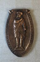 Rare Maj. General N. M. Curtis 1913 Statue Unveiling, Ogdensburg NY Bronze Medal