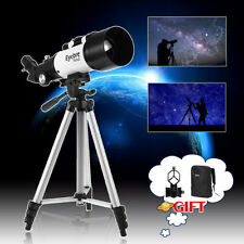 336X 70mm Aperture 400mm Astronomical Telescope Monocular Refractor & Bag Tripod