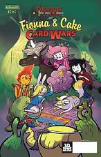 Adventure Time Fionna & Cake Card Wars # 2 Kaboom NM Subscription Cover