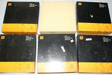 Lot of 6 Kodak Slide Trays with Boxes, Good Condition