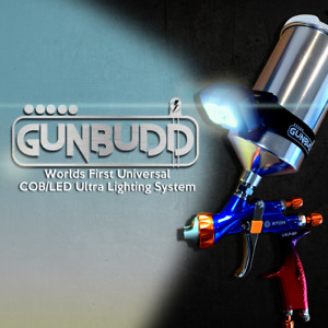 Spray Gun Light- GUNBUDD® COB/LED for DEVILBISS SATA IWATA TEKNA ATOM-X