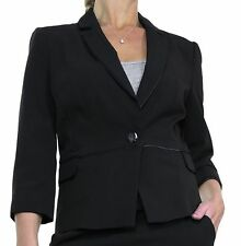 Women's Formal Polyester Blazers Single Breasted Coats & Jackets