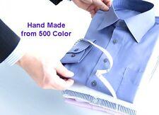 3X CUSTOM MADE to MEASURE Long Sleeve Work Formal Business bespoke Dress Shirt