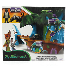 Tomy Disney Zootropolis Danger in the Rainforest Playset
