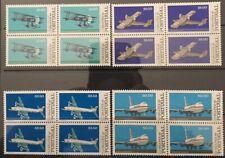 Portugal 1982 - Airplanes, Lubrapex Block Four set MNH