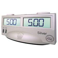 Reloj digital de ajedrez Silver