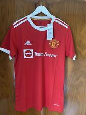 More details for manchester united 21/22 ronaldo shirt brand new. please read description.