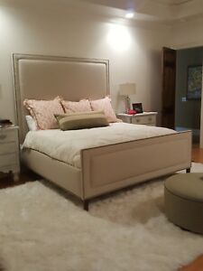 UPHOLSTERED BED AND HEADBOARDS